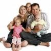 Padre, madre e hijos: un modelo de familia muy actual