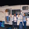 Cuatro amigos y una misión: transportar litros de esperanza y vida