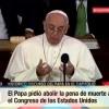 El Papa contra la pena de muerte