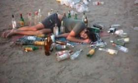 El alcohol llena vacíos