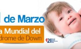 Feliz Dia Mundial del Síndrome de Down.