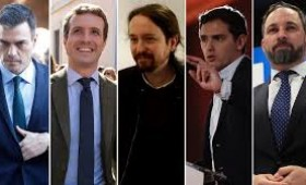 Maratón electoral en España