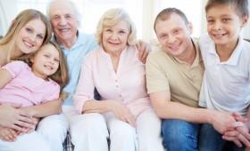 Con los abuelos en casa, la familia gana
