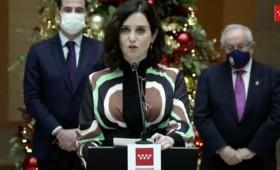 Bonito discurso navideño de Isabel Ayuso